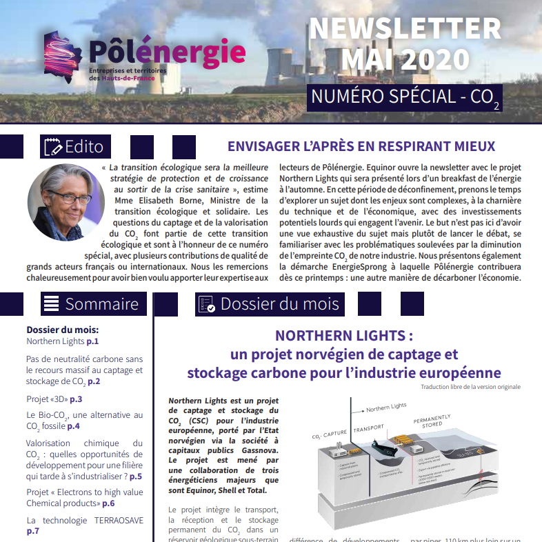 E2C Featured in Latest Polénergie Newsletter