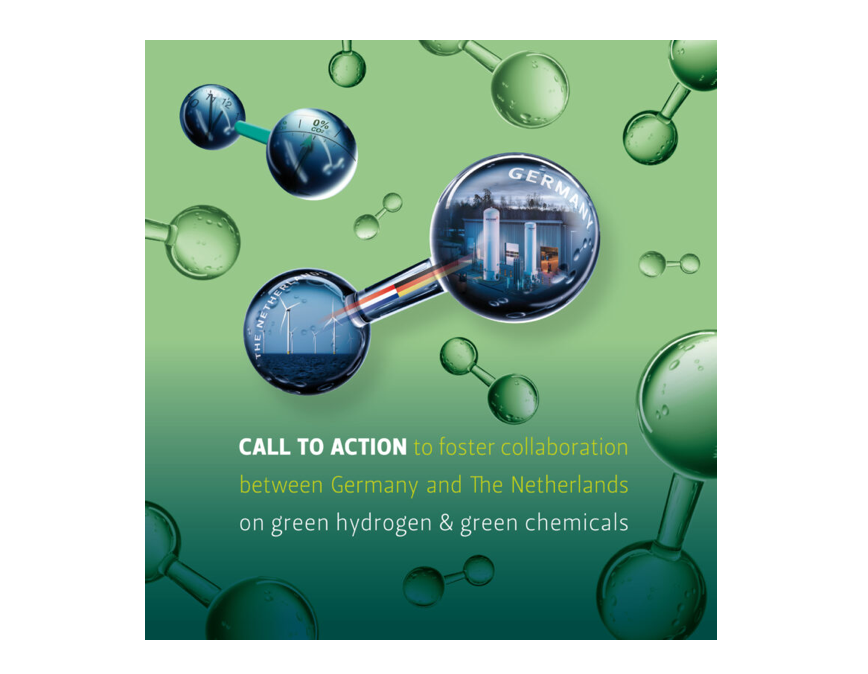 The Netherlands and Germany are joining forces for a joint innovation approach to green hydrogen and green chemistry