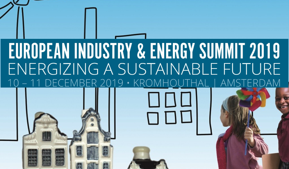 European Industry & Energy Summit 2019: Energizing a Sustainable Future