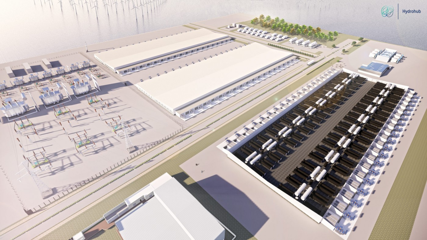 Large potential for production of green hydrogen in five Dutch industrial regions