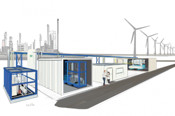 CO2 reduction through industrial innovation with P2X: Towards a field lab industrial electrification