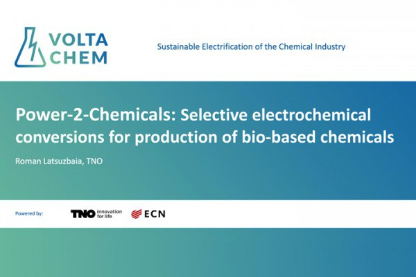 Power-to-Chemicals Session 5 and 15