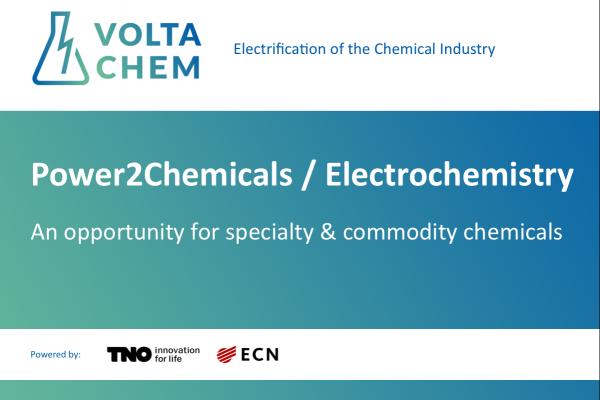 VoltaChem - Power2Chemicals / Electrochemistry