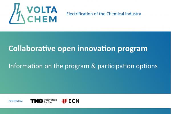 VoltaChem - Collaborative Shared Innovation Program