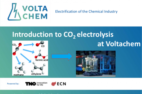 Introduction to CO2 electrolysis at Voltachem