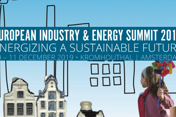 European Industry & Energy Summit 2019: Energizing a Sustainable Future