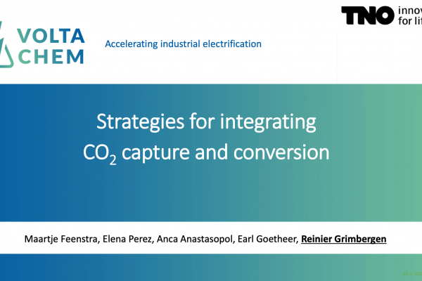 Presentation Strategies for integrating CO2 capture and conversion